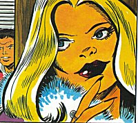 Zora Loftus, without the Bluebird mask on