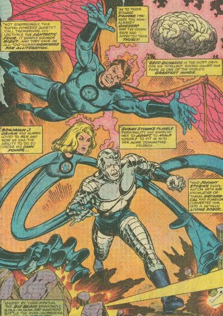 Earth Fantastic Four Alternate Powers Big Brain Dragonfly Ultra
