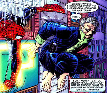 chris sims spider-man essay Asm #12 quick: what's spider-man really all about, in one sentence  the  online comics community, from chris sims[1][2] to sequart's own.