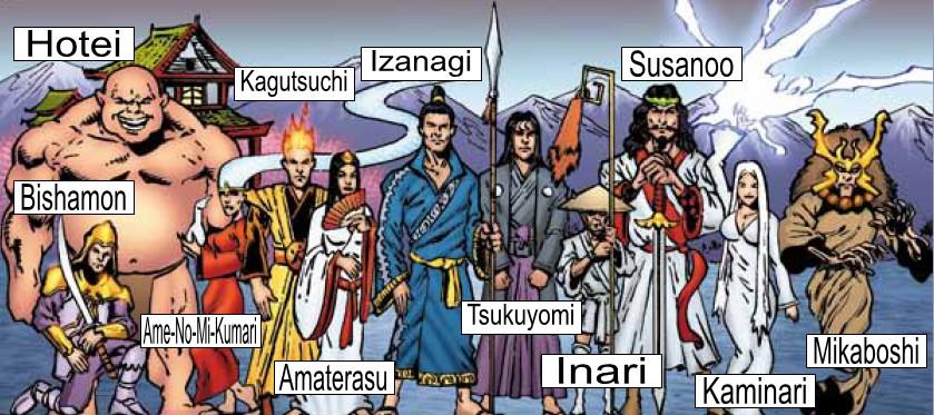 Amatsu-Kami (Japanese Gods)