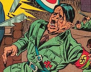 Image result for NAZI interrogation CARTOON