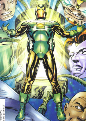 Marvel vs DC Comics Ironlant1