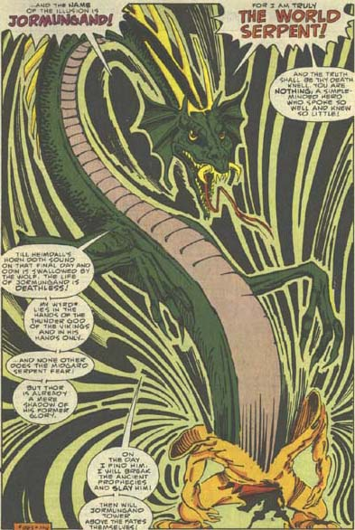 The Midgard Serpent (Jormungand, Thor foe)