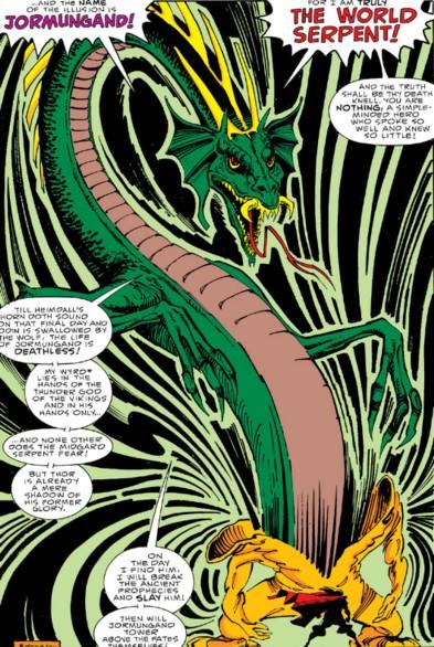 The Midgard Serpent (Jormungand, Thor foe)