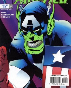 Sensational Hydra Captain America Foe