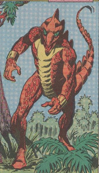 Stegron (Spider-Man foe)