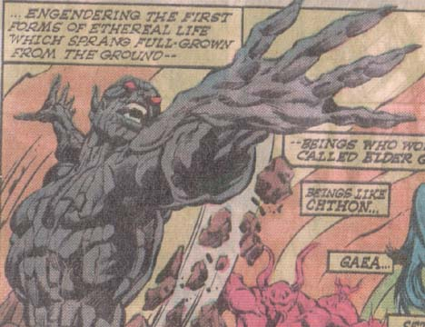 Doctor Who Morbius >> Chthon (Demon of the Darkhold)