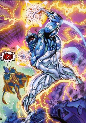 Krosakis Captain Universe Gladiator Silver Surfer Foe
