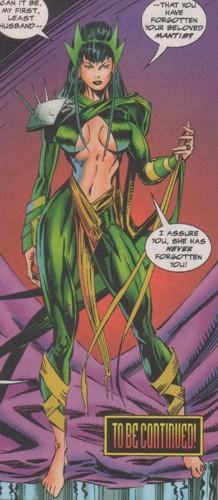 mantis imposter avengers foe