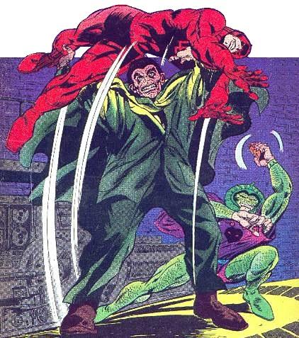 Mr Hyde Calvin Zabo Thor Daredevil Avengers Spider Man Foe
