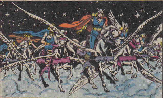 Valkyries mythology