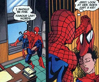 Opinion spiderman being suked off by spiderwoman sorry