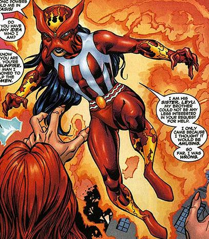 Sunpyre (X-Corps/X-Men member) - 325.9KB