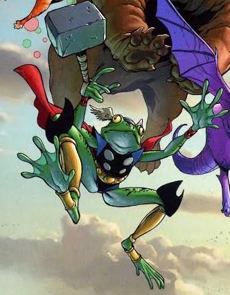 Throg Frog Thor