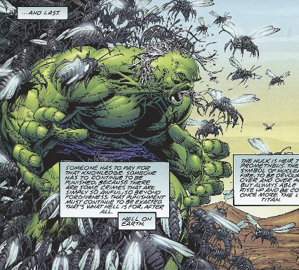 Reality 2081 Hulk The End Last Titan Devoured Daily By