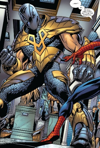 Gladiator Earth 1610 Spider Man Foe