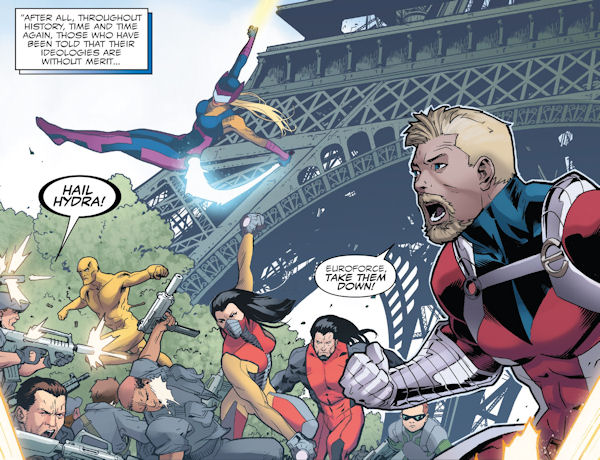Euroforce (Marvel Italia, European super hero team)
